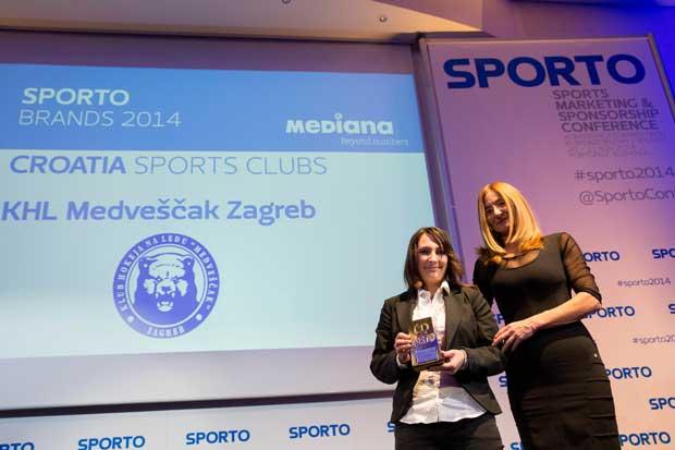 KHL Medveščak, Marin Čilić i Sandra Perković najpoznatiji su hrvatski sportski brandovi
